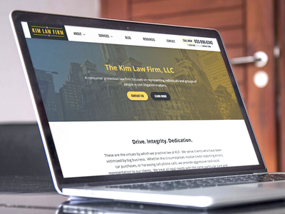 Law Firm Refresh responsive minimal lawyer legal website attorney firm law clean
