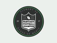 Fantasy Football Merit Badge