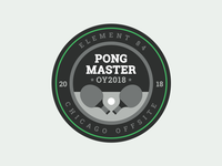 Ping Pong Master Merit Badge