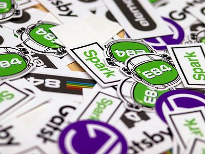 Gatsby [Spark] X E84 minimal jamstack meetup gatsby spark logo js stickers frontend javascript element 84 e84 gatsby gatsbyjs