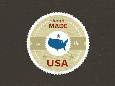 Made In The Usa made in the usa made handmade emblem
