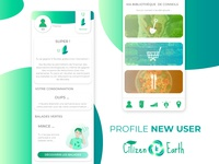 Profile New User Citizen Earth