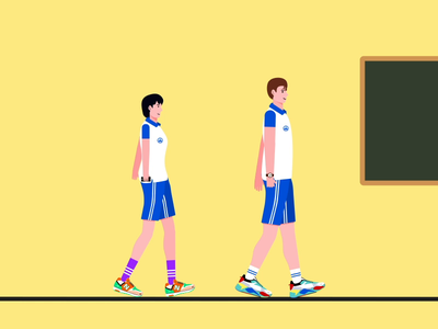 Shoot/Blocboy JB Dance animation design vector 插图
