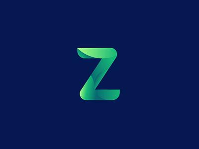 Z logo Animation 插图 ui branding