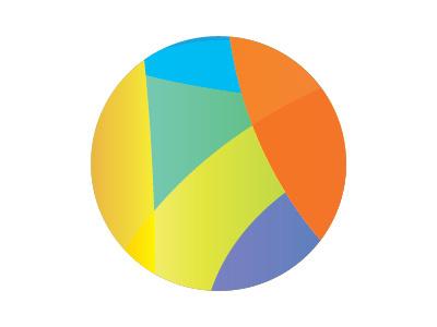 Hola logo hola color circle