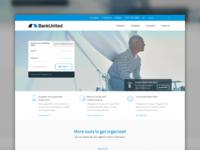 BankUnited Website Design