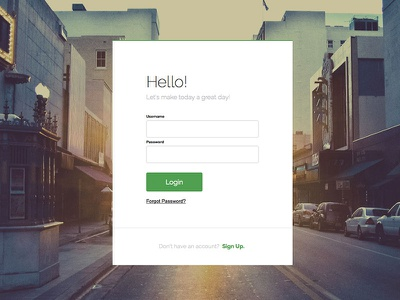 Login Page login sign up account log in sign in