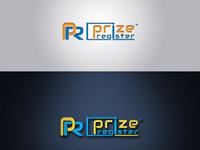 Prize Register unique Logo design