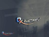 quattrofx logo design