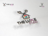 The luxe studio logo design