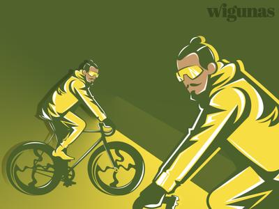 bike mascot logo hipsters army vintage skull sketch tshirt design tshirt illustrator illustration design