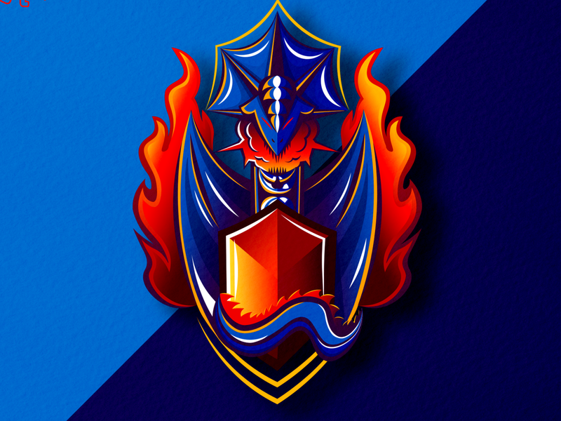 dragon super fire logoinspirations logoideas logoplace logotype logomark designforsale logo design dragons mascotlogo logomascot logo illustrator