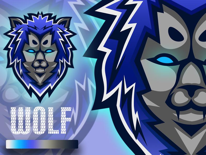 wolf logoawesome logoinspiration wolf illustrator design designlogo mascotlogo logomascot logo