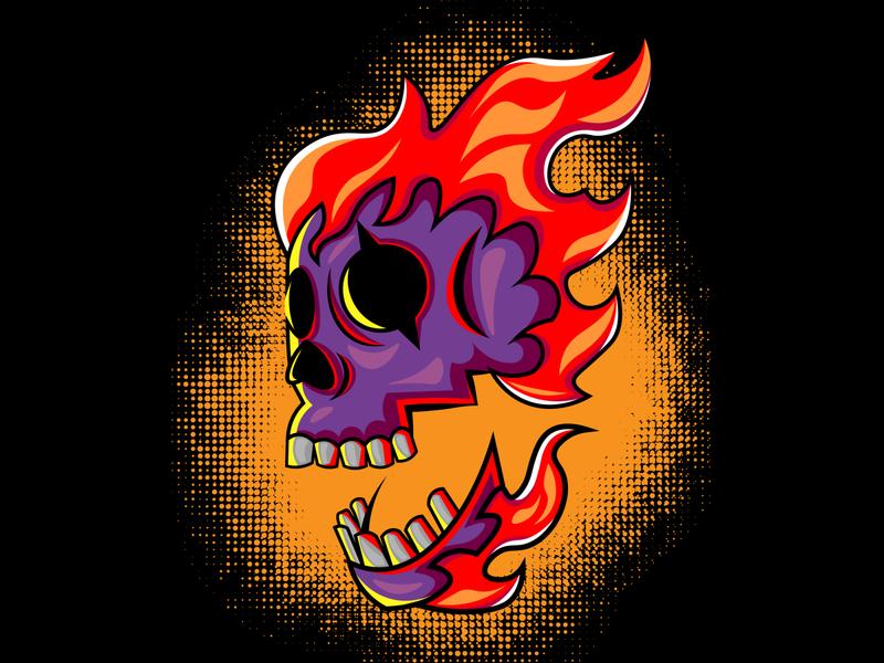 skull2 mascotlogo mascot skull logo flat vector designforsale design skull art illsutration skulls skull