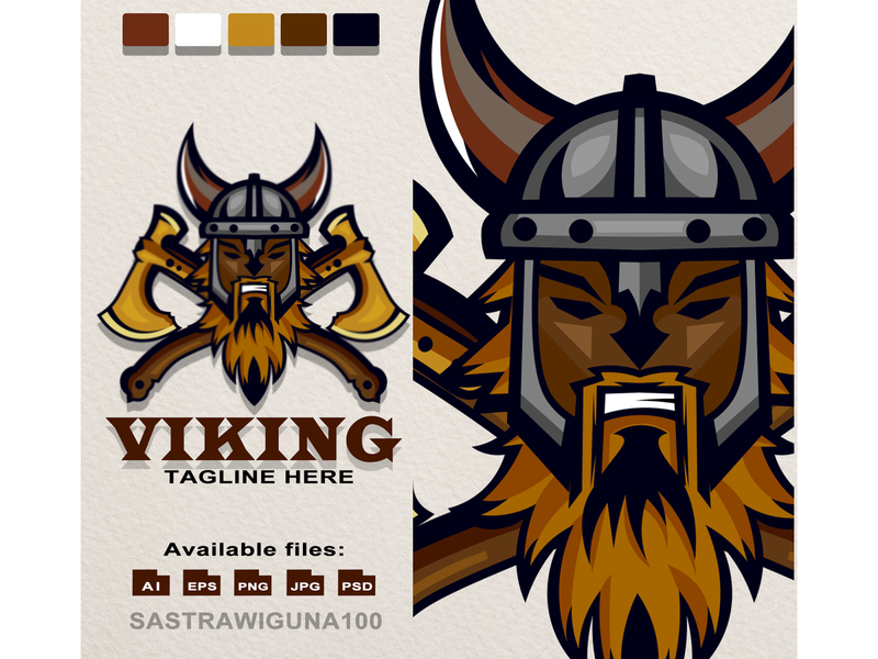 viking1 vector branding sketch flat mascot design viking logos mascot logo tshirt design illustration logotype logo design logo