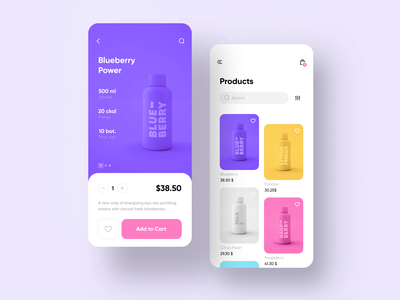 Beverage Shop App product beverage drinks shop store retail food and drink food app shopping ecommerce design ecommerce app ecommerce colorful color mobile app mobile ui mobile ui app design app