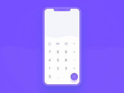 Calculator App mobile app motion concept minimal ui interaction animation mobile ios calc calculator app