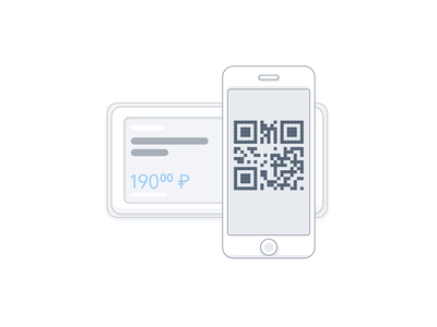 QR-code scanning animation