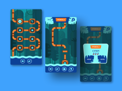 Jungle Pipes — Mobile Game
