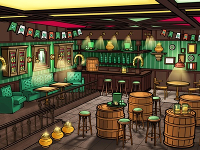 St.Patrick 's Day — Game Location