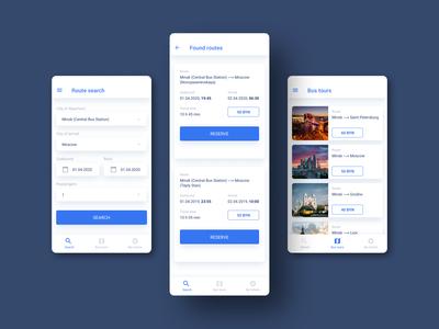 Bus Tours - Mobile Application
