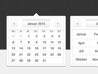 Webshims UI Datepicker