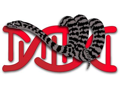 Snake logo illustration dna snakes idea graphicdesign design logodesign logo snake logo snake