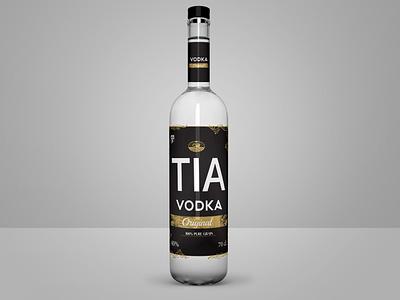 Vodka branding adobe illustrator alchocol logo gold black glass bottle mockup glass bottle bottle packagedesign package label packaging label brand design vodka brand