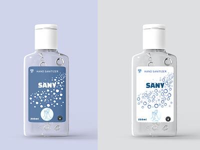 Hand Sanitizer packaging design packagedesign labeldesign label bottle label adobe illustrator hand wash soap wash bottle mockup mockup bottle soap wash bubbles white liquid sanitizer hand gel