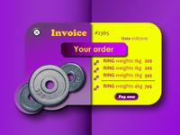 Daily UI #46 - Invoice