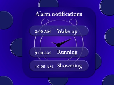 Daily UI # 49 - Notifications