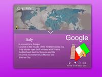 Daily UI #29 - Map Design