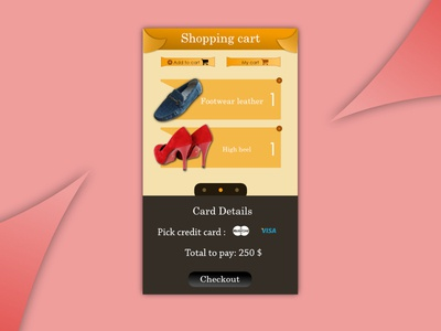 Daily UI #58 - Shopping Cart