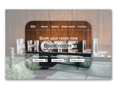Daily UI #67 - Hotel Booking