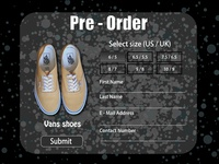 Daily UI #75 - Pre Order