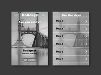 Daily UI #79 - Itinerary