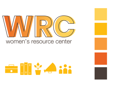 Hamline University Women's Resource Center Branding