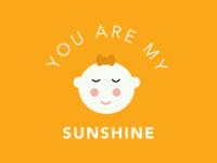 Word challenge - Sun- You are my sunshine