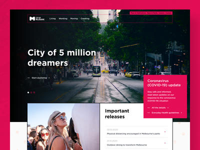 Just for fun #4 homepage website webdesign web design concept design ux ui