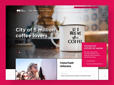 Just for fun #5 homepage website webdesign web design concept design ux ui