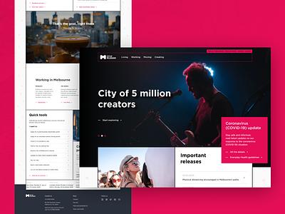 Just for fun #6 homepage website webdesign web design concept design ux ui