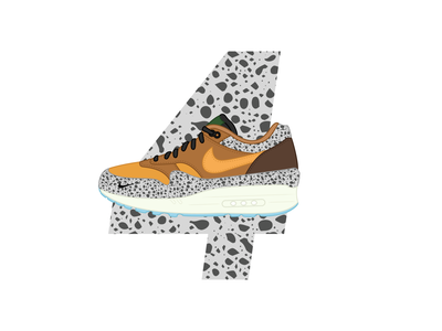 26 Days of Air Max - Day 4 daily challenge sneaker art design illustration vector icon therapy graphic design