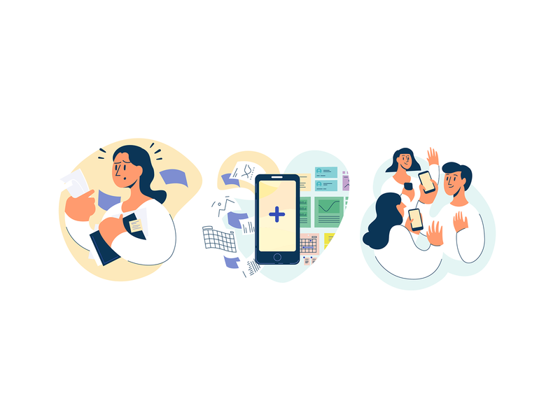 App Spot Illustrations