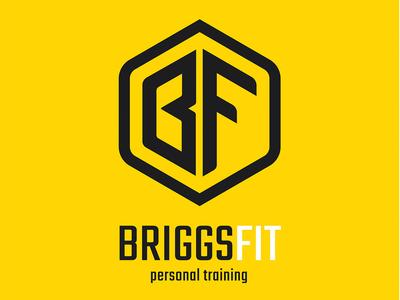 BriggsFit - Personal Training logo design