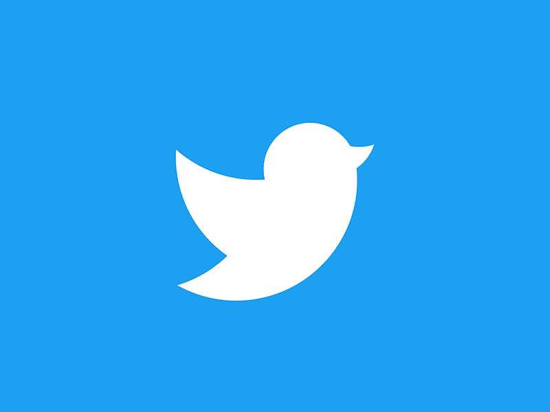 Twitter logo re-design concept logo symbol logo design branding logo design logo 2d flat brand identity design logomark icon vector minimal logo design branding