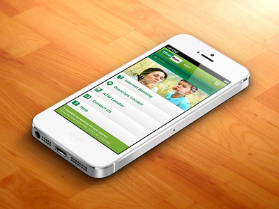 First Bank Mobile App concept clean design ui ux mobile ios