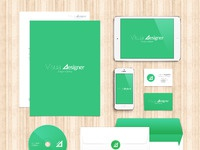 Personal identity mock up