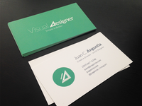Business Cards arrived!