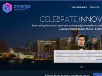 emerge Americas website