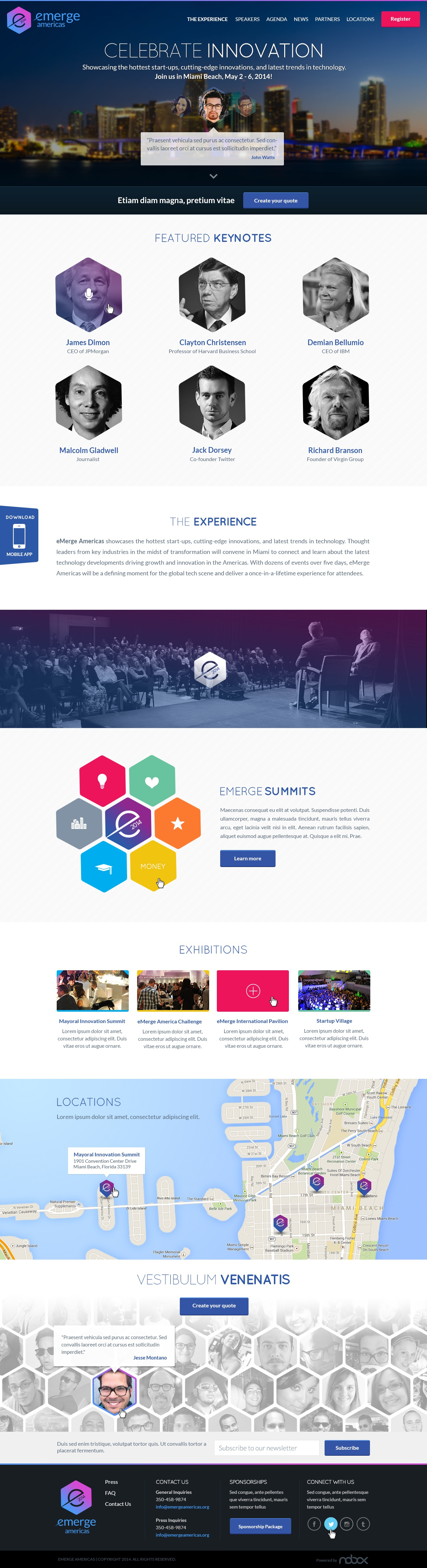 01 emerge microsite home